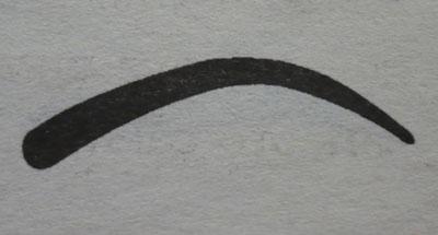 Круглые брови