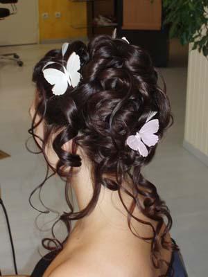 Фото на тему свадебные и вечерние прически на короткие и длинные волосы.