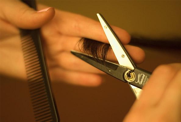 ...можно скачать и распечатать купон на скидку в 20% на стрижку горячими ножницами в салоне-парикмахерской.