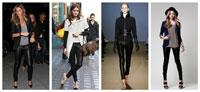 Советы модницам: чем дополнить кожаные брюки? (рис. 3)