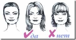прически для квадратного типа лица фото