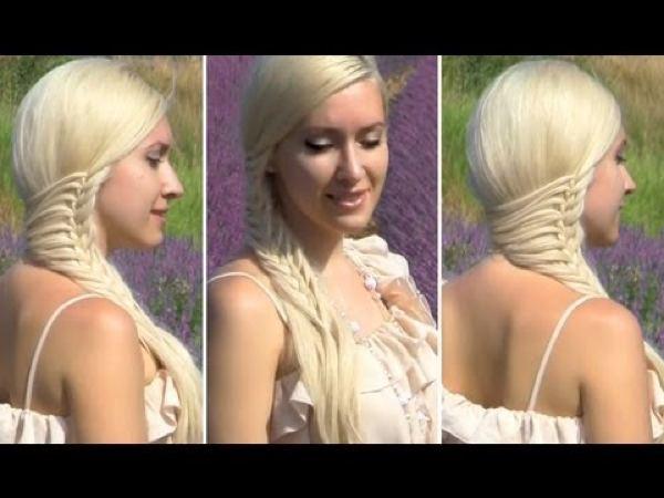 Прически на длинные волосы своими руками видео и фото