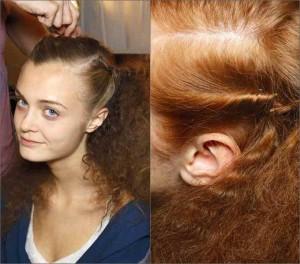 decorate large flower hair or make wiring 300x264 Завивка волос на шпильки в домашних условиях