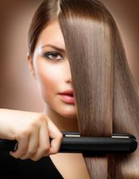 How to straighten hair1